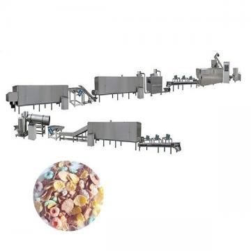 Gas Diesel Energy Fruit Loops Flakes Cereals Extrusion Making Machine