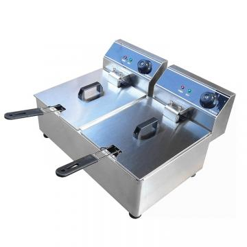 Double Tanks Commercial Catering Kitchen Equipment Electric Deep Fryer
