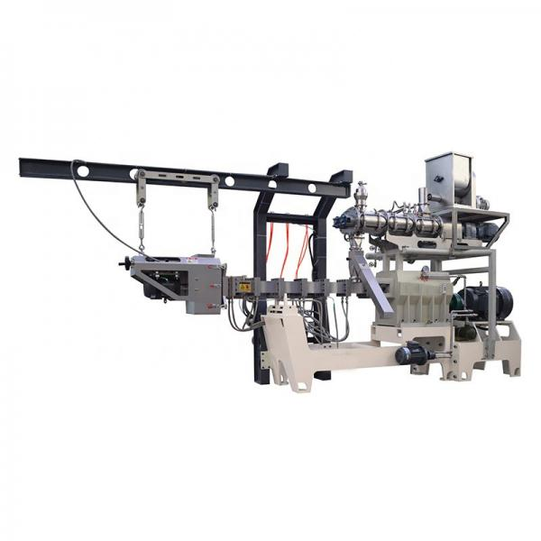 Inflat Puff Extrusion Maize Corn Rice Snack Food Core Filling Extruder Making Production Line Equipment Machine #1 image