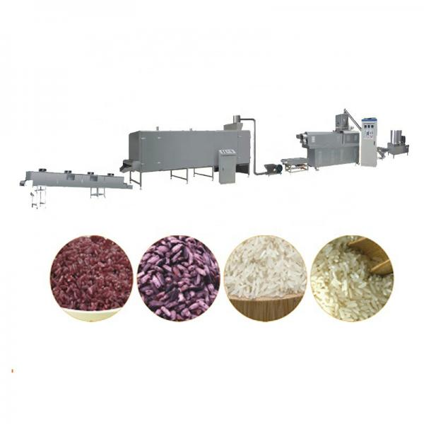Fully Automatic Industrial Artificial Rice Processing Line #1 image