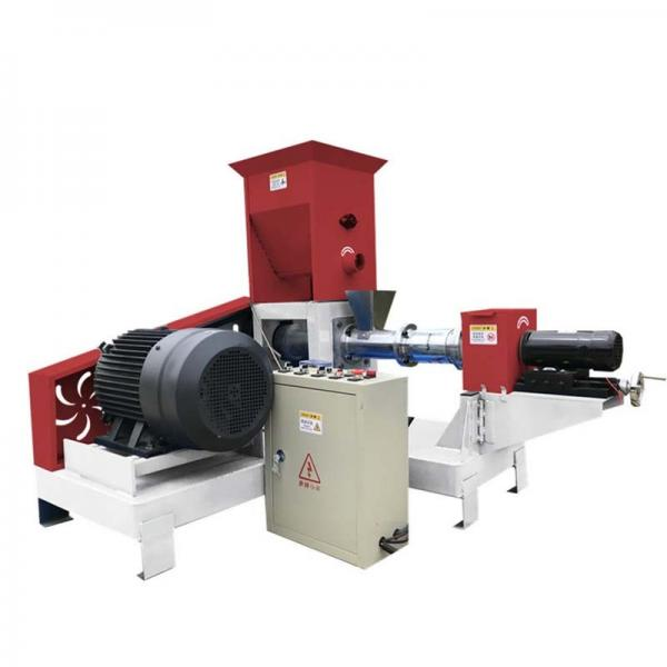 Floating Fish Food Processing Line / Catfish Feed Pellet Making Extruder Machine Corn Snack Double Screw Pellet Extruder Plant Price #1 image