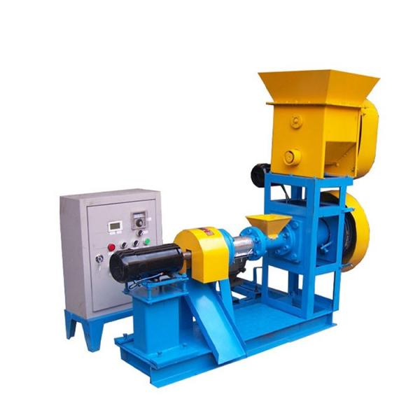 Automatic Floating Pellet Fish Feed Production Extruder From China Manufacturer #1 image
