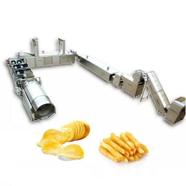 China Supplier Potato Chips Gas Deep Frying Machine for Sale #2 image
