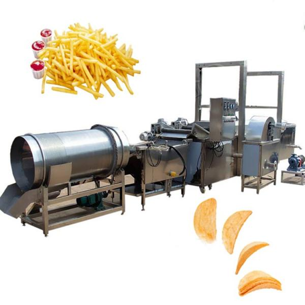 Factory High Quality and Mobile Potato Finger Chips Making Machine for Sale #2 image