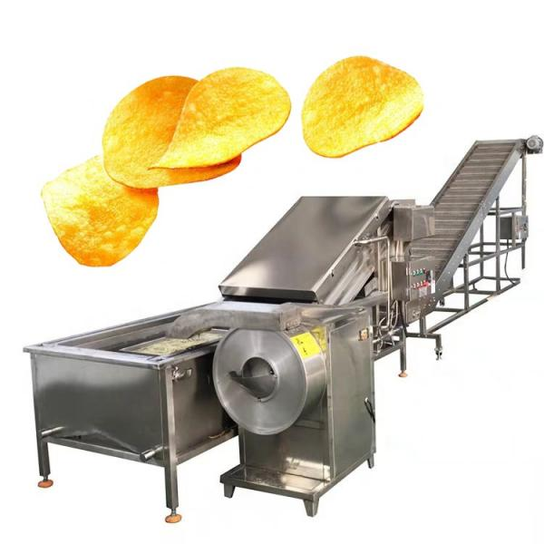 50kg/H Manual Potato Chips Machine French Fries Processing Line Machine for Sale #1 image