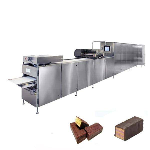 Fully Automatic Food Packaging Production Line for Wafer Biscuits Cereal Bar Wrapping Machine Cookies Feeding Flow Packaging Line #2 image